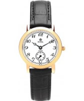 Buy Royal London Ladies Classic Black and Gold Watch online