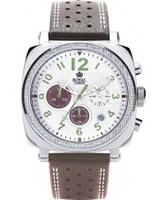 Buy Royal London Mens Sports Chronograph Brown Watch online