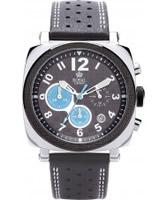 Buy Royal London Mens Sports Chronograph Black Calf Watch online