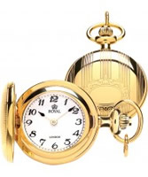 Buy Royal London Ladies Gold Pendant Watch with Arabic Numerals online