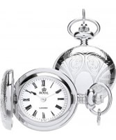 Buy Royal London Ladies Silver Pendant Watch with Roman Numerals online