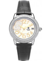 Buy Royal London Ladies Black Crystal Heart Fashion Watch online