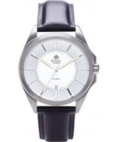 Buy Royal London Mens Classic Black Leather Watch online