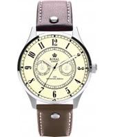 Buy Royal London Mens Vintage Beige and Brown Watch online