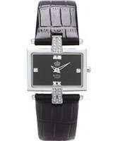 Buy Royal London Ladies Fashion Black Crystal Watch online
