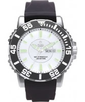 Buy Royal London Mens Black and White Sports Divers Watch online