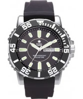 Buy Royal London Mens Black Sports Divers Black Watch online