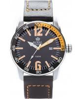 Buy Royal London Mens Black and Orange Sporty Watch online