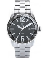 Buy Royal London Mens Silver and Black Sporty Watch online