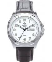 Buy Royal London Mens Black and Steel Workhorse Watch online