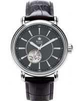 Buy Royal London Mens Black Automatic Watch online