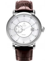 Buy Royal London Mens Automatic Brown Leather Watch online