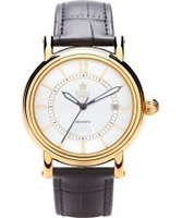 Buy Royal London Mens Black and Gold Automatic Watch online