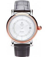 Buy Royal London Mens Automatic Rose Gold Watch online