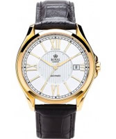 Buy Royal London Mens Automatic Black and Steel Watch online