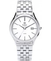Buy Royal London Mens Classic Silver and White Watch online