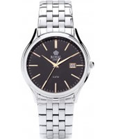 Buy Royal London Mens Classic Black and Silver Watch online