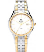 Buy Royal London Mens Classic Two Tone Watch online