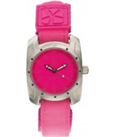 Buy Animal Ladies Side Shore Flouro Pink Watch online