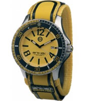 Buy Animal Mens Squall Yellow Watch online