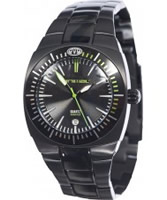 Buy Animal Mens Surfmaster Black Steel Integral Bracelet Watch online