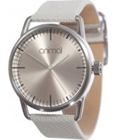 Buy Animal Ladies Baise White Strap Watch online