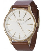 Buy Animal Ladies Mondrum Brown Leather Strap Watch online