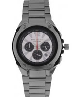 Buy Ballistic Mens Cyclone Chronograph Silver White Watch online