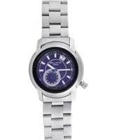 Buy Ballistic Mens Tornado Silver Blue Watch online