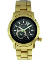 Buy Ballistic Mens Tornado Green Gold Watch online