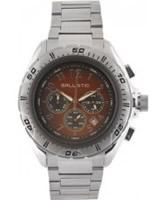 Buy Ballistic Mens Chronograph Silver Brown Watch online