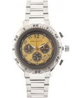 Buy Ballistic Mens Chronograph Silver Gold Watch online