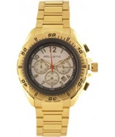 Buy Ballistic Mens Chronograph Gold White Watch online