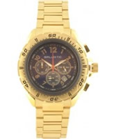 Buy Ballistic Mens Chronograph Brown Gold Watch online