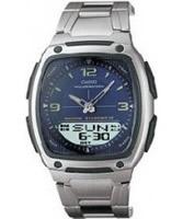 Buy Casio Mens Dual Display Steel Sports Watch online