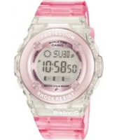 Buy Casio Ladies Baby-G Chronograph Pink Watch online