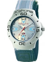 Buy Kahuna Ladies Classic Silver Blue Watch online