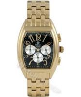 Buy Royal London Mens Chronograph Black Dial Golden Bracelet Watch online