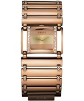 Buy Mango Ladies Polished Rose Gold Watch online