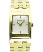 Buy Mango Ladies Gold White Watch online