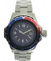 Buy Ballistic Mens Vortex Silver Blue Watch online