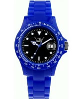Buy LTD Watch Blue Plastic 3 Hand Watch online