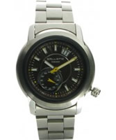 Buy Ballistic Mens Tornado Silver Brown Watch online