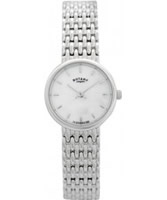 Buy Rotary Ladies Precious Metal Silver Watch online