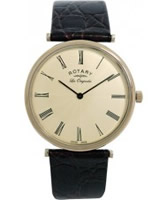 Buy Rotary Mens Les Originales Cream Dial Watch online