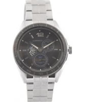 Buy J Springs Mens Retrograde Steel Black Watch online