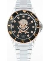Buy LTD Watch Unisex Clear Gold Black Watch online