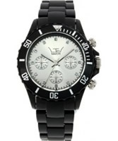 Buy LTD Watch Unisex With Black Bezel And Silver Dial Plastic Watch online