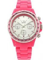 Buy LTD Watch Unisex Silver Dial Plastic Chronograph Watch online