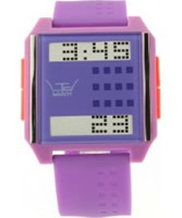 Buy LTD Watch Unisex Purple And Pink Mix And Match Digital Watch online